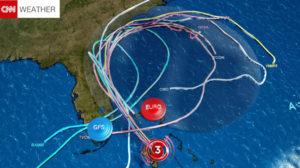 El huracán Matthew podría impactar dos veces Florida
