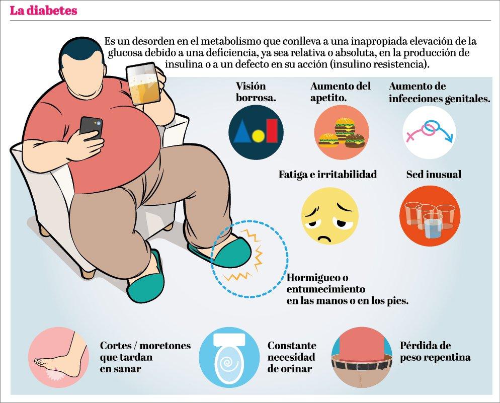 infarto cerebral etiología de la diabetes